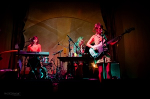 Everything Shook Electric Picnic trio photo Tadhg Nathan